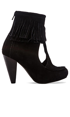 Jeffrey Campbell Navajo Heel in Black Suede