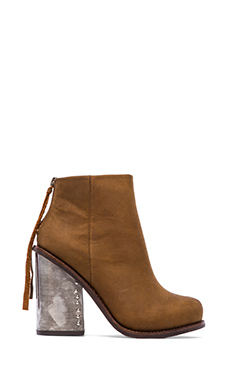 Jeffrey Campbell Reverb Bootie in Brown
