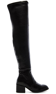 Jeffrey Campbell Dorsey Over the Knee Boot in Black