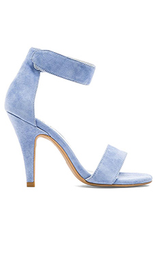 Jeffrey Campbell Hough Heels in Pale Blue Suede