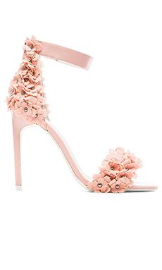 Jeffrey Campbell Meryl Floral Heel in Pink