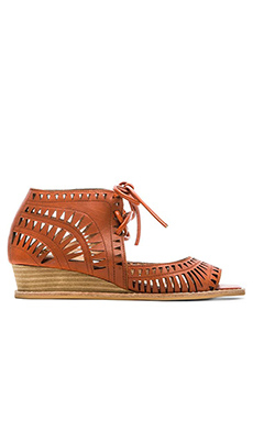Jeffrey Campbell Rodillo Sandal in Orange