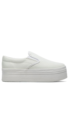 Jeffrey Campbell WTF Sneaker in White