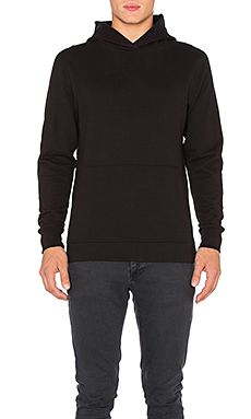 John Elliott + Co Hooded Villain in Black