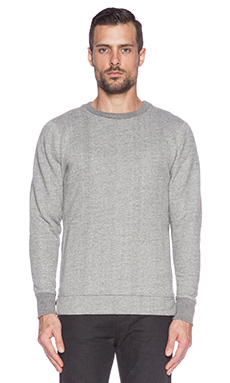John Elliott + Co Villain Crew in Grey