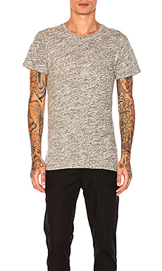 John Elliott + Co Mercer Tee in Co-Mix Grey