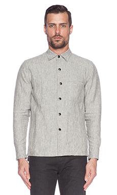 John Elliott + Co Snap Overshirt in Linen