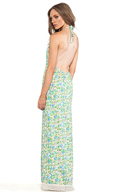 Jen's Pirate Booty Willow Tree Backless Dress in Pastel Water