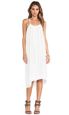 Jen's Pirate Booty Zinnia Drape Dress in White
