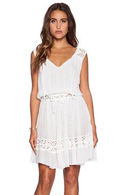 Jen's Pirate Booty Nouveau Victorian Mini Dress in White