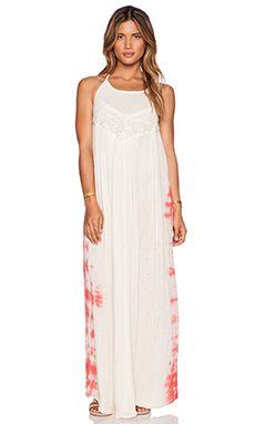 Jen's Pirate Booty Margaux Maxi Dress in Natural & Coral HED