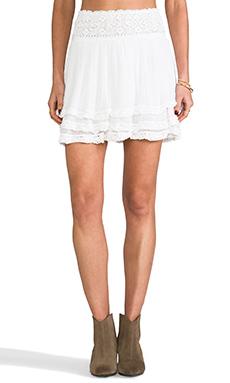 Jen's Pirate Booty Nuevo Mini Skirt in White