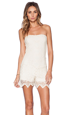 Jen's Pirate Booty Supernova Romper in Bare Bones