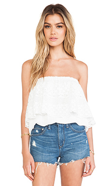 Jen's Pirate Booty Jamaican Tube Top in White