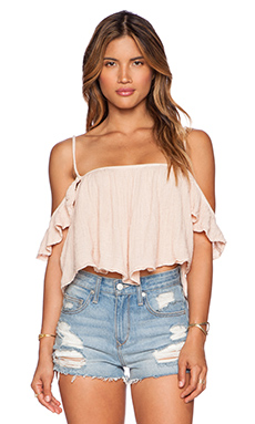 Jen's Pirate Booty La Rose Top in Summer Quartz
