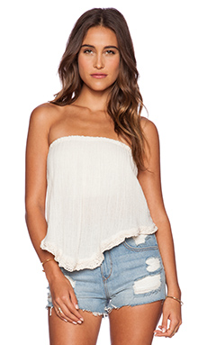Jen's Pirate Booty Wonder Bandeau Top in Natural