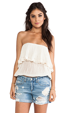 Jen's Pirate Booty Cha Cha Tube Top in Natural