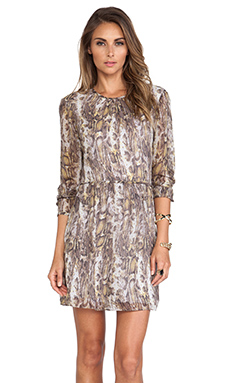Jenni Kayne Long Sleeve Dress in Grey Multi