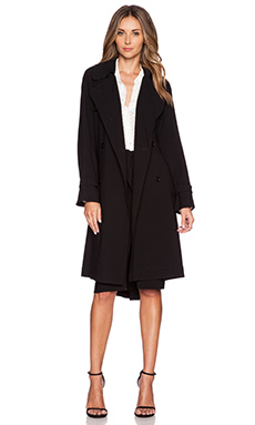 Jenni Kayne Trench Coat in Black