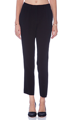Jenni Kayne Pleated Pant in Black