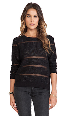John & Jenn by Line Aviana Sweater in Caviar