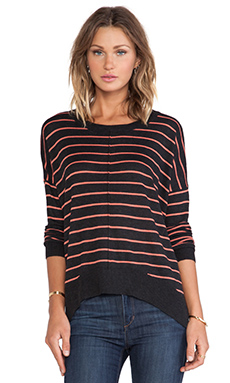 John & Jenn by Line Radley Sweater in Smoked Coral