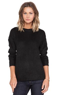 John & Jenn by Line Sky Sweater in Caviar
