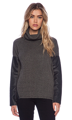 John & Jenn by Line Marlowe Sweater in Open Late