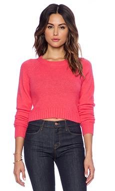 John & Jenn by Line Pixie Cropped Sweater in Blush