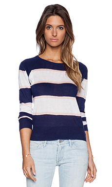 John & Jenn by Line Destinee Pullover in Navy World