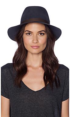 Janessa Leone Sadie Hat in Gunmetal