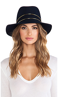 Janessa Leone George Hat in Navy