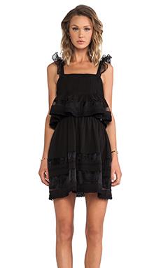 J.O.A. 2 Layered Dress in Black