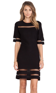 J.O.A. Dress in Black