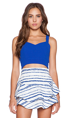 J.O.A. Crop Top in Royal Blue