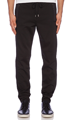 Joe's Jeans Freestyle Slim Jogger Alistair in Jet Black
