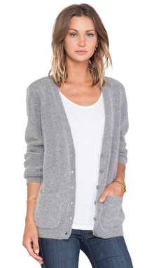 Joe's Jeans Thurston Cardigan in Heather Charcoal