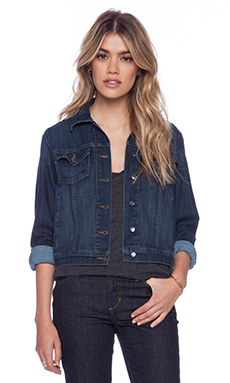 Joe's Jeans Fahrenheit Cropped Jacket in Retta