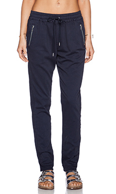 Joe's Jeans Karlie Street Zip Slim Jogger in Navy