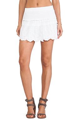 Joe's Jeans Liza Skirt in White