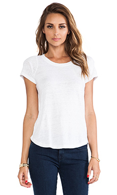Joe's Jeans Lindes Mini Tee in White