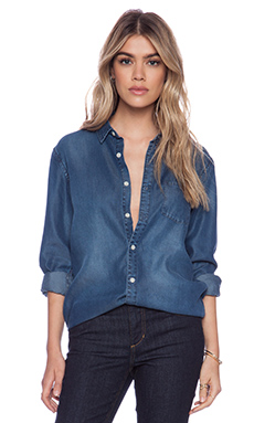 Joe's Jeans Single Pocket Shirt in Marti