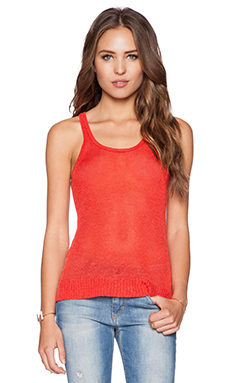 Joe's Jeans Phoebe Tank in Poppy
