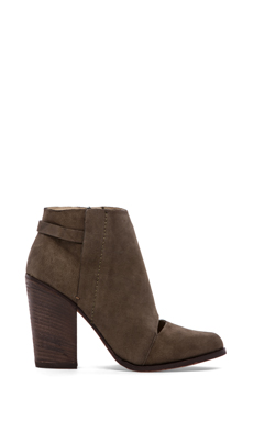 Joe's Jeans Avryl Bootie in Dark Olive