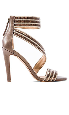 Joe's Jeans Nile Heel in Nickel &Champagne
