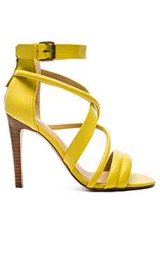 Joe's Jeans Robbie Heel in Lime Yellow