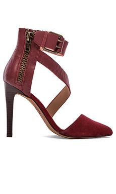 Joe's Jeans Ali Heel in Red