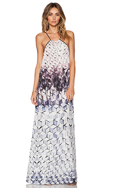Johanne Beck Sofia Maxi Dress in Geo Palm