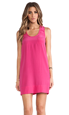 Joie Peri B Tank Dress in Bougainvillea
