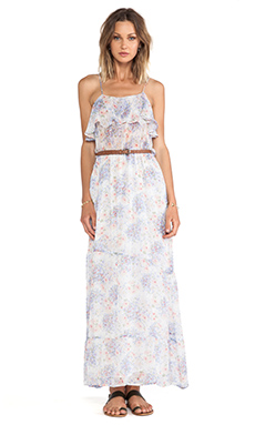 Joie Rominette Maxi Dress in Porcelain